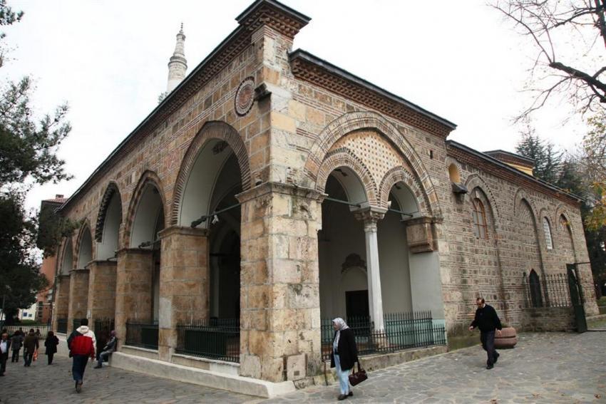 Orhanbey Camii / Osmanlı mimarisi / Bursa / Tarihi cami