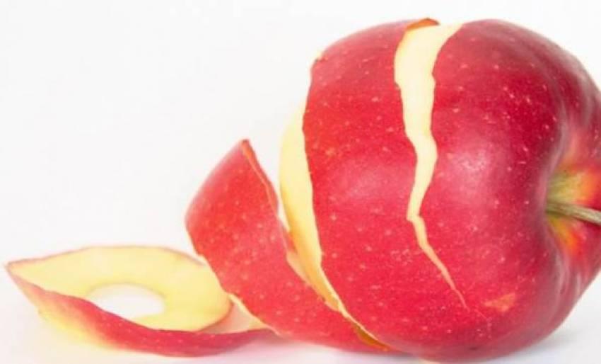 Kabuklu elma her derde deva