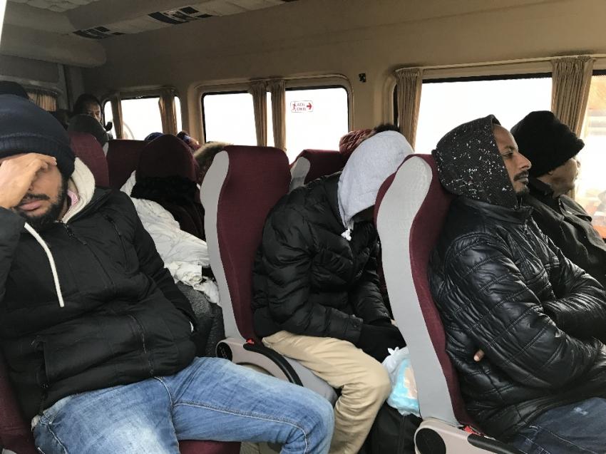 41 kaçak yakalandı