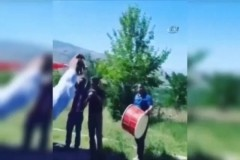 Kahraman komandolara davullu zurnalı karşılama