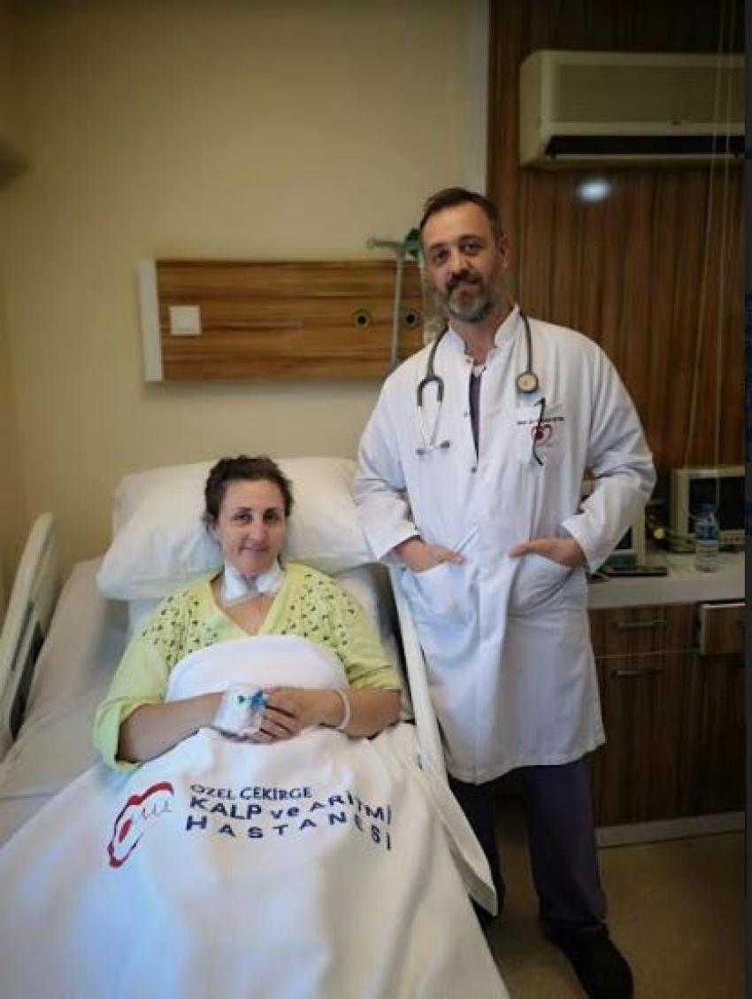 Özel Çekirge Kalp ve Aritmi Hastanesi 'nden bir başarılı operasyon daha…