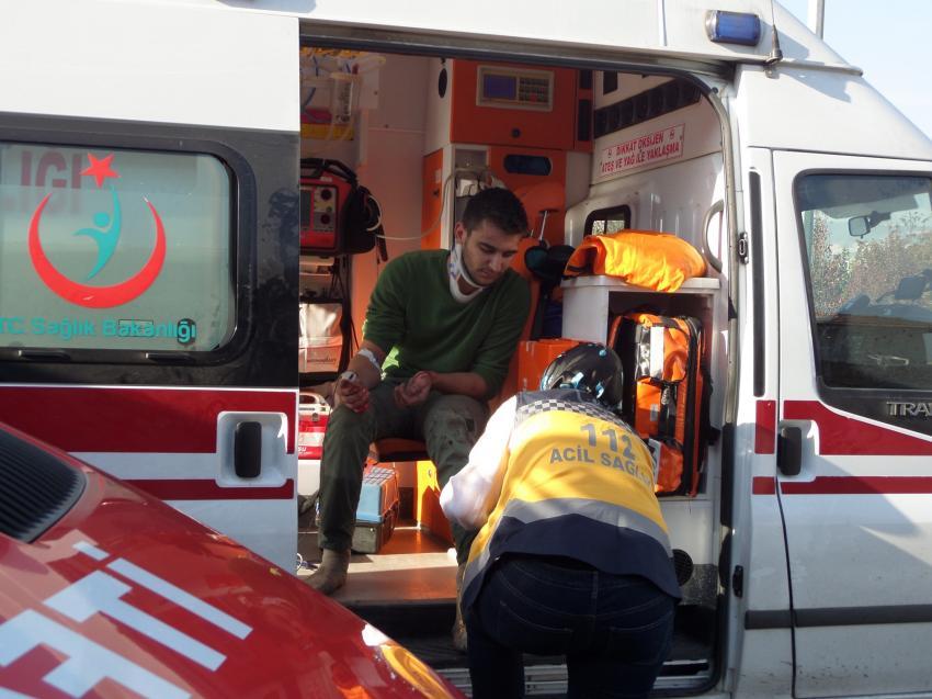 Bursa'da kamyon kazası, 1 ölü 1 yaralı