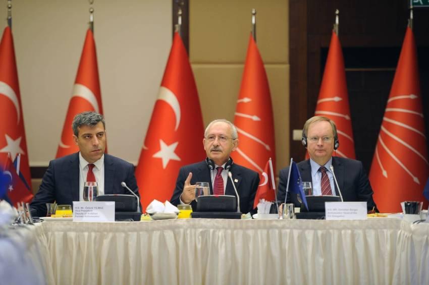Kılıçdaroğlu AB büyükelçilerine ne anlattı ?