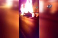 Kereste atölyesinde korkutan yangın