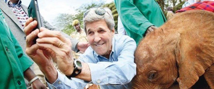 Kerry yavru fille selfie çekti