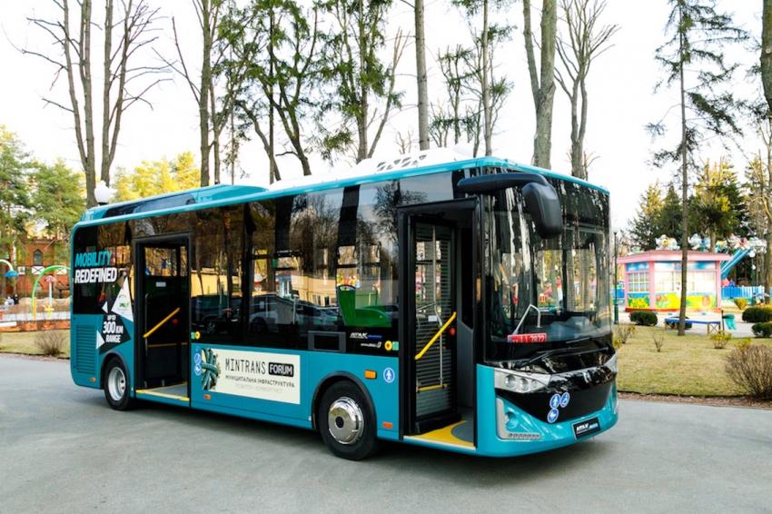 Ukrayna'nın toplu taşıma araçları Bursa'dan