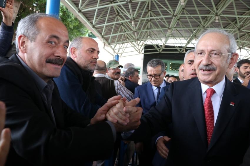 Kılıçdaroğlu Adana'da