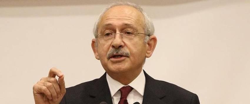 """Kılıçdaroğlu:""""Anayasa değişikliği ihanettir"""""""