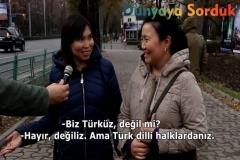 Kırgızlara Kendi̇ni̇zi̇ Türk Olarak Görüyor Musunuz Diye Sormak