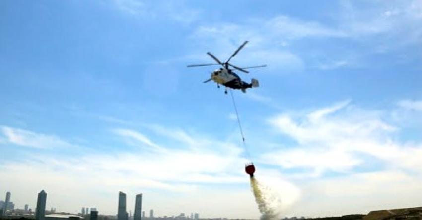 O ilimiz helikopterle dezenfekte edilecek