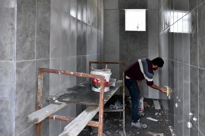 Osmangazi'de camiler yenileniyor