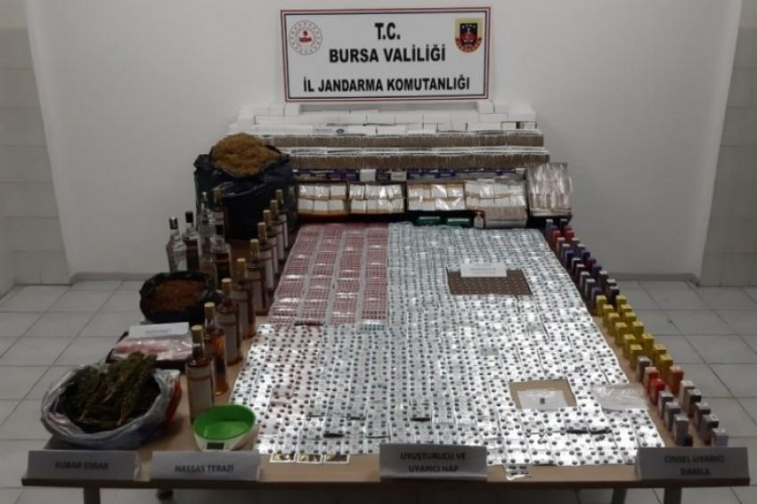 Bursa'da 70 yaşındaki uyuşturucu taciri...
