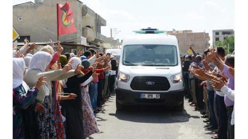 Kobani'de bir ilk