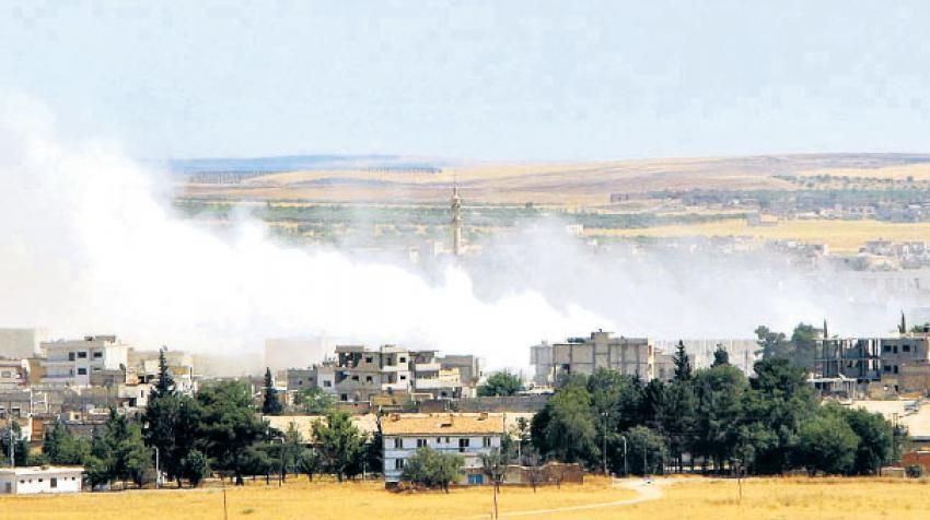 Kobani'de ölüm kol geziyor