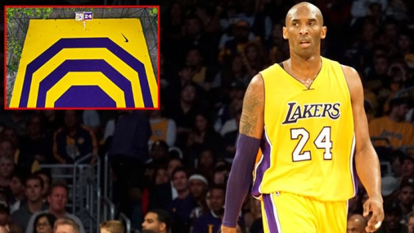 Kobe Bryant'ın adı, o ilimizde bir basketbol sahasına verildi