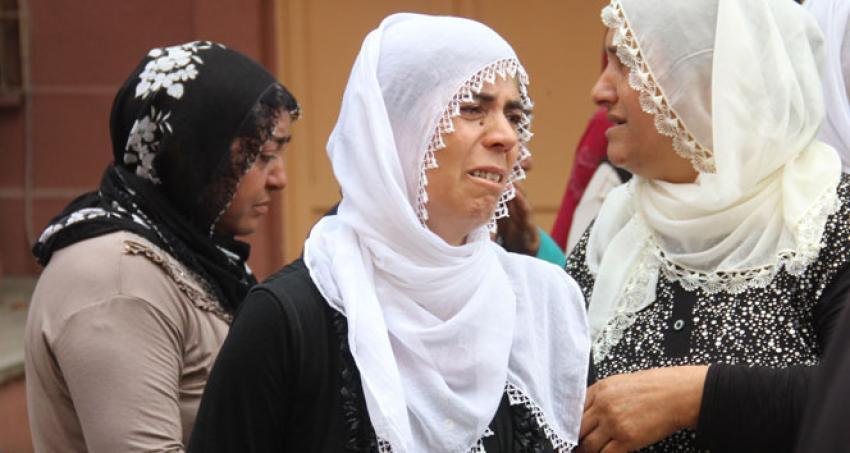 Kocası tarafından öldürülen kadına gözyaşı