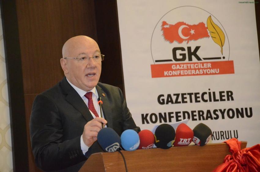 TGK'dan teröre lanet, basına duyarlılık çağrısı