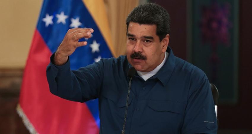 Maduro'dan Kolombiya'ya suçlama.