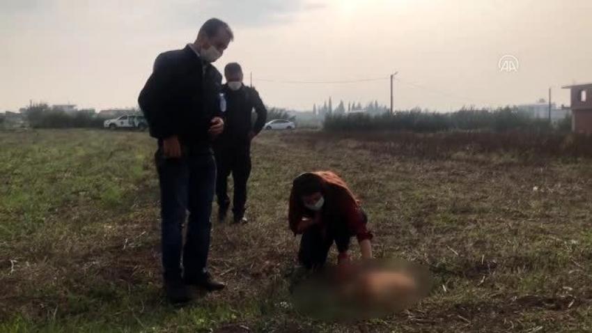 Bursa'da komşusunun tüfekle öldürdüğü köpeğinin ardından gözyaşı döktü
