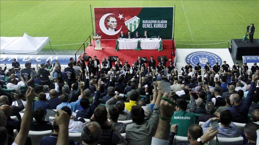 Bursaspor'da kongre günü