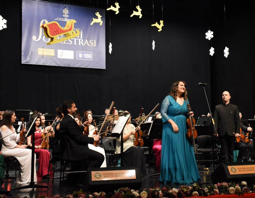 BBDSO'dan Merinos AKKM'de Yılbaşı Konseri