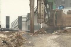 Köprülü kavşak inşaatında ana doğalgaz borusunu patlattılar, büyük panik aşandı