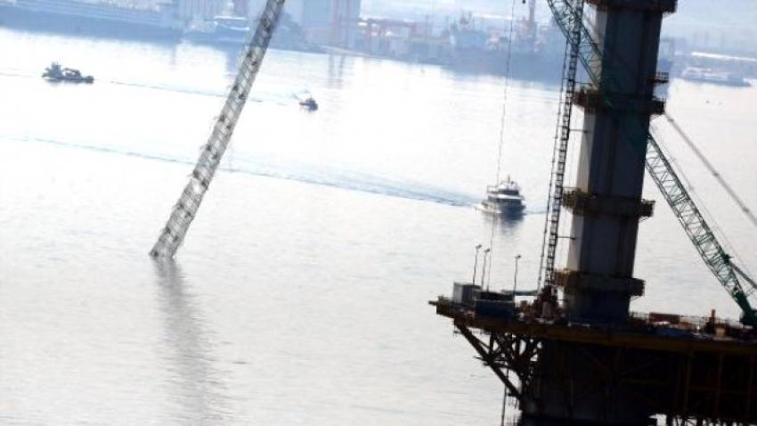 Körfez köprüsü inşaatından kötü haber