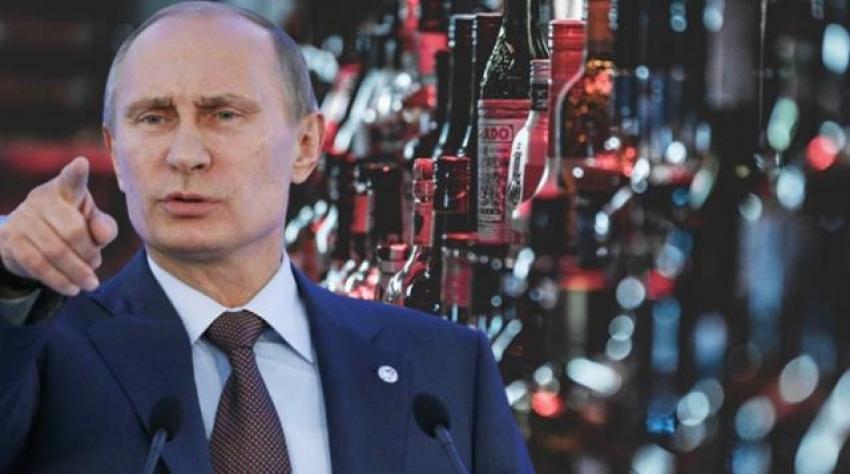 Putin kararnameyi imzaladı, ülkede alkol satışı yasaklanıyor