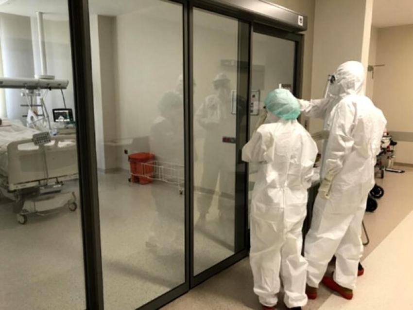 Yoğun bakımdaki virüslü hasta sayısında artış