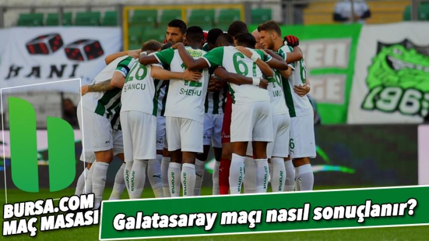 Galatasaray maçı nasıl sonuçlanır?