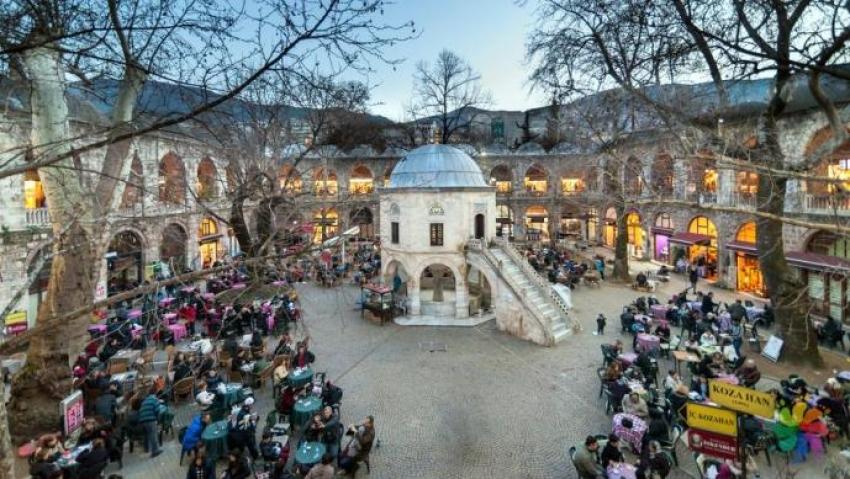 Bursa'ya gelen yabancı turistler açıklandı