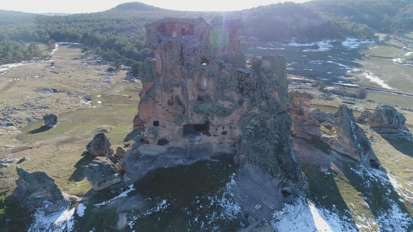Kral Midas'ın kızının yaşadığı kale: Doğanlıkale