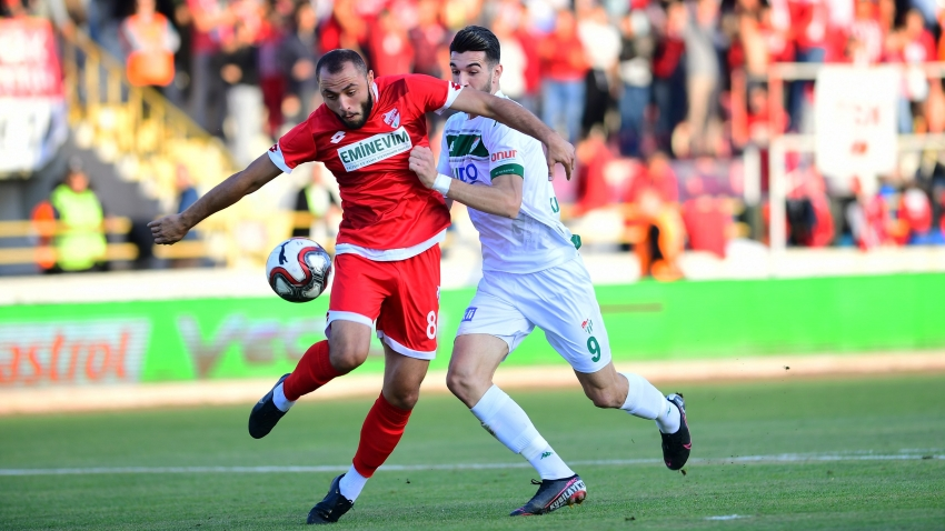 Boluspor 1-1 Bursaspor