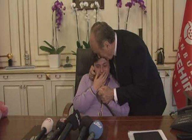 Küçük Başkan gözyaşları içinde bakın ne istedi?