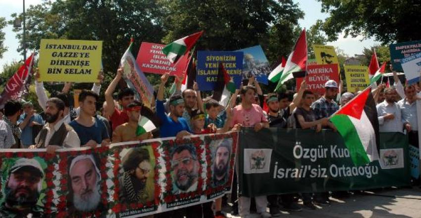 Dünya Kudüs Günü'nde İsrail'i protesto ettiler