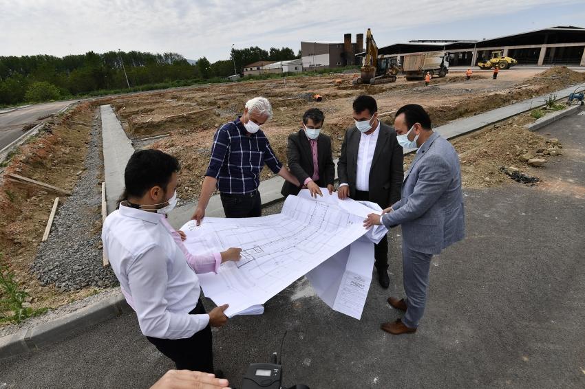 Osmangazi Belediyesi'nden dev tesis