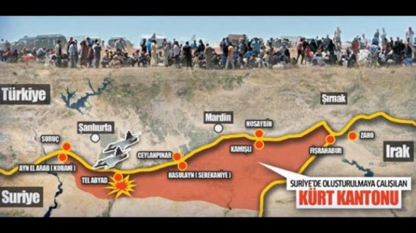 Kürt devleti kuruyorlar