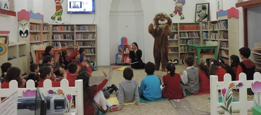 Bursa kütüphanelerinde çocuk sesleriyükseliyor