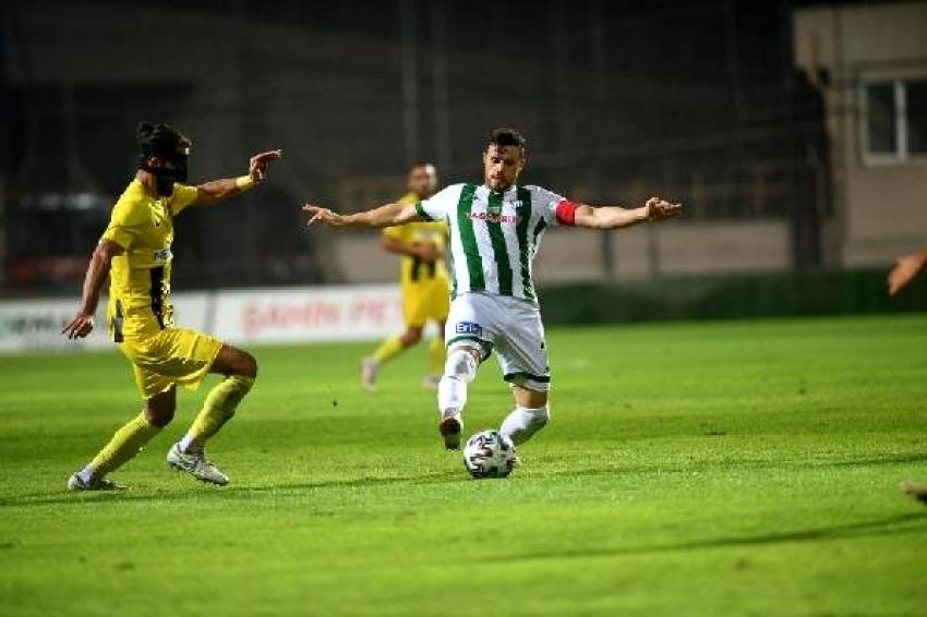 Lige verilen ara da Bursaspor'a çare olamadı