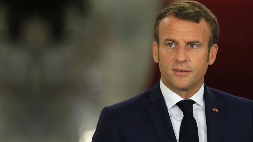 Macron'dan Türkçe mesaj