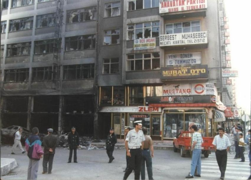 Madımak Katliamı'nın 22. yıl dönümü