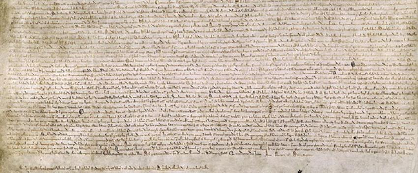Magna Carta 800 yıl sonra İngiltere'den çıkıyor