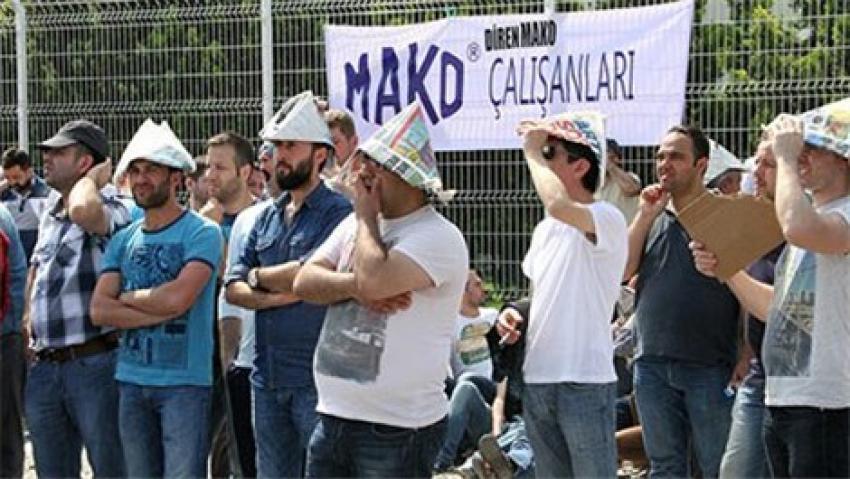MAKO işçilerinin eylemi sona erdi