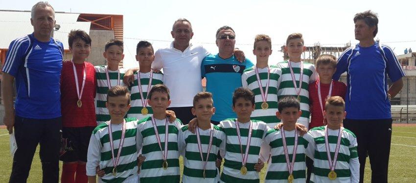 Bursaspor'dan bir şampiyonluk daha