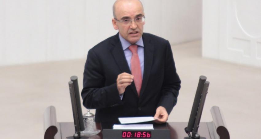 Maliye Bakanı Şimşek, yeminini etti