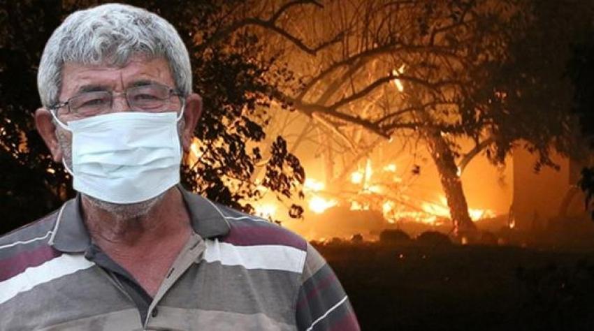 Manavgat'taki yangında öldüğü sanılıyordu!