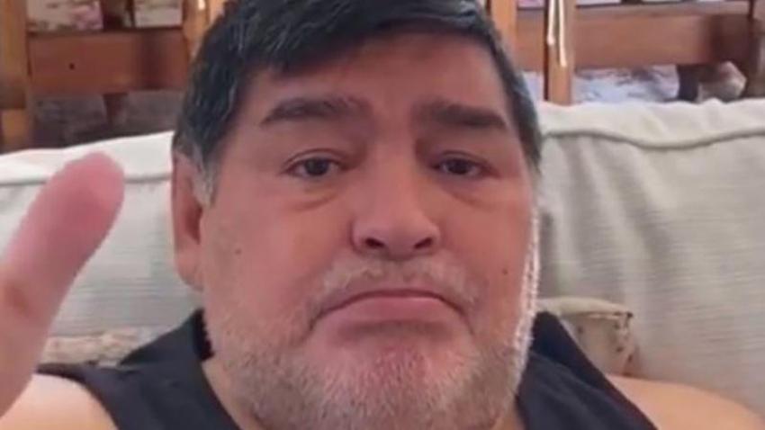 Maradona gözyaşları içinde çağrıda bulundu