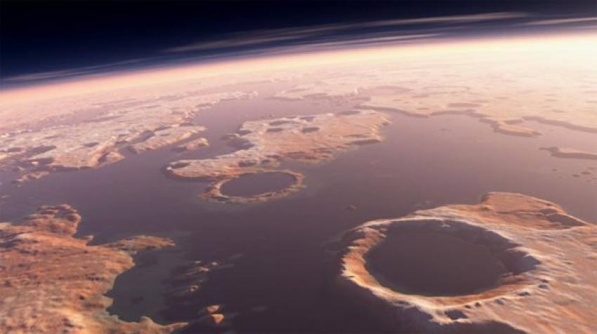 Mars'ta tsunami izleri bulundu