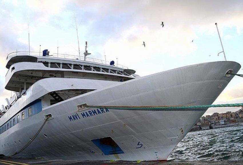 Mavi Marmara gemisinde keşif!