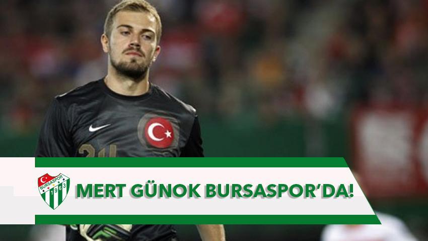 Mert Günok Bursaspor'da